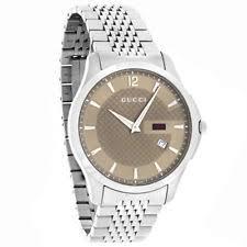 gucci 126 4. gucci 126 g-timeless slim mens stainless steel swiss quartz watch ya126310 4