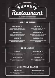 Free Printable Restaurant Menu Templates Free Printable Restaurant Menu Templates 2018 Printable Menu And Chart