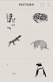 シンプルなイラストで上野動物園の動物たちを紹介するwebサイトがステキ