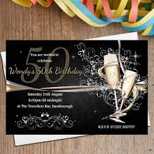 black gold birthday invitations