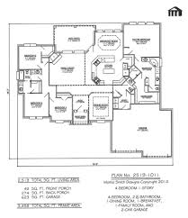 4 Bedroom Cabin Plans Image