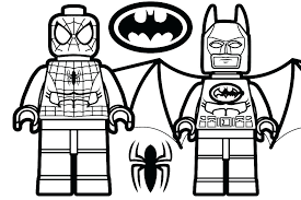Lego Coloring Pages Superhero Coloring Pages Avengers Free Printable