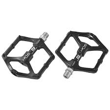 2Pcs Mountain Road Bike <b>Aluminum Alloy MTB</b> Pedals Flat Platform ...