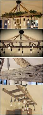 vintage farmhouse lighting. Vintage Farmhouse Ladder Chandelier - Cozy Up To The Table And Enjoy A Meal With Your Lighting E