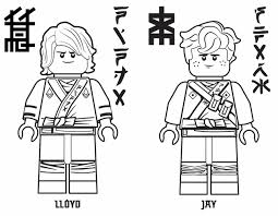 The Lego Ninjago Movie Printables