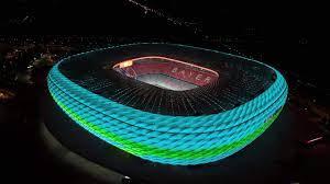 Wie die Münchner Allianz Arena während der EURO erstrahlt :: DFB -  Deutscher Fußball-Bund e.V.