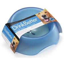 DrinkBetter pet water dish helps dogs and cats drink more slowly and avoid  gorging and unhealthy