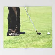 Golf Throw Blanket