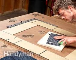 DIY Decorating Frame Your Mirror With Glass Tile Family Handyman