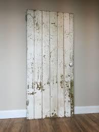 farmhouse board and batten door