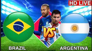 Brazil vs Argentina Live🔴 - YouTube