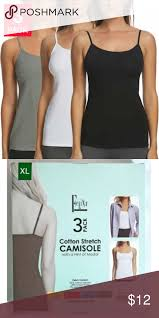 Felina 3 Pack Cotton Stretch Camisole Felina 3 Pack Of