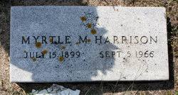 Myrtle Marie Harrison (Harvey) (1899 - 1956) - Genealogy
