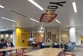 located in the same building as the one occupied by the google london headquarters namely the central st giles building in the covent garden area central saint giles office building google