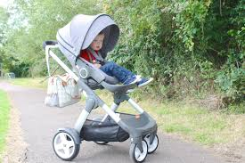 the stokke crusi as a pushchair and a sibling solution  review