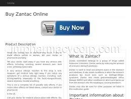 Buy Zantac Online Zantac Generic Side Effects Zantac 150