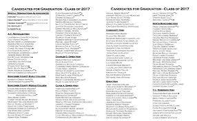 mid year graduation buncombe county schools 2017