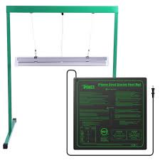 Hydroponic Light Stand Amazon Com Ipower Glstndt52fhtmtm 24w 2 Feet T5