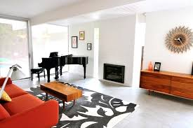 grey floor tiles living room with mid century modern image by designs tile pattern