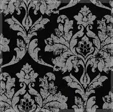 Silver Wallpaper For Bedroom Aliexpresscom Buy Home Decor Black Silver Damask Wallpaper