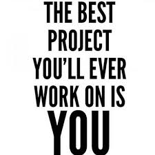 Self Improvement Quotes Fascinating The Best Project You'll Ever Work On Is YOU Daily Motivation