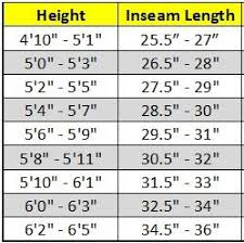 Inseam Measurement Chart By Height The Best Rowing Machine For Tall People Full Breakdown