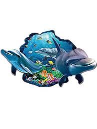 Heligen 3D Cartoon Cute Underwater Animal Fish Shark <b>Dolphin</b> ...