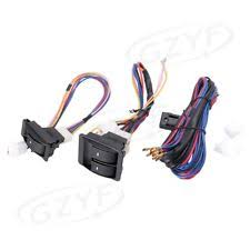 left car & truck window motors & parts for isuzu trooper ebay Construction Harness at Universal Wire Harness With Electric Windows
