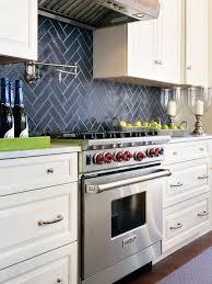 black and white kitchen backsplash ideas. Black + White \u003d Classic Contrast - 40 Kitchens That Are Anything But Vanilla On HGTV. I Like The Herringbone Pattern Of Tile Back Splash! And Kitchen Backsplash Ideas K