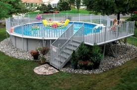 Above Ground Swimming Pool Deck Designs Awesome Inspiration Ideas