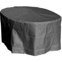 Housse de protection Table ovale de Jardin Haute qualitŽ polyester L ...