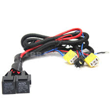 h4 9003 wire harness relay halogen headlights lamp booster set h4 9003 wire harness relay halogen headlights lamp booster set fuse base