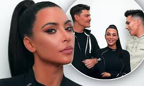 kim kardashian appears in beauty battle featuring james charles and guest mario dedivanovic daily mail