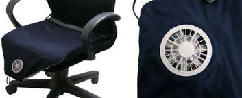 cooled office chair. Suzukaze Air-Conditioned Seat Cushion From Kuchofuku Cooled Office Chair G