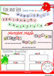 Free math worksheets, math games, online quizzes, video lessons and ebooks downloads for learning and teaching kindergarten. Free Phonics Worksheets Activities Monster Phonics