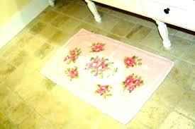 flower bath rug amazing fl bathroom rugs pink