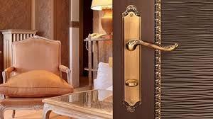 ручка дверная tesa r3903uolm кноб матовая латунь фиксатор
