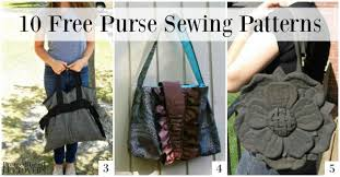 Purse Sewing Patterns New 48 Free Purse Sewing Patterns