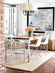 aluminum kitchen table rug for dining room rugs modern jute in formal