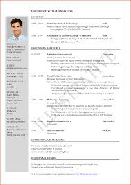 10 cv resume format event planning template jpg cv template