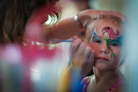 belly kids parties face painting