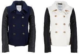 details about aeropostale womens wool peacoat jacket winter pea coat xs s m l xl 2xl new nwt