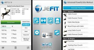 jefit is a gym trainer and fitness tracker app that provides free fitness programs to help you stay fit and make progress out of your sessions