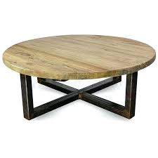 reclaimed timber vintage round coffee table tables retro