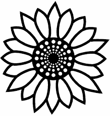 Small Picture Sunflower Coloring Pages Printable RedCabWorcester RedCabWorcester
