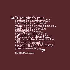 Quotes About Caring For Others Picture The 100th Dalai Lama quote about caring QuotesCover 35