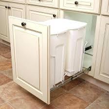 white kitchen garbage can tall kitchen trash can decoration tall kitchen trash can trash bin pull white kitchen garbage can