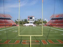 Fiu Football Stadium Seating Chart Miami Orange Bowl Wikipedia