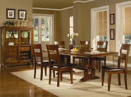 oak dining table and chairs. Lavista Dark Oak Wood Dining Table Set And Chairs E