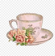 tea party teacup teapot clip art PNG image with transparent background    TOPpng